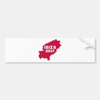 Ibiza 2017 bumper sticker