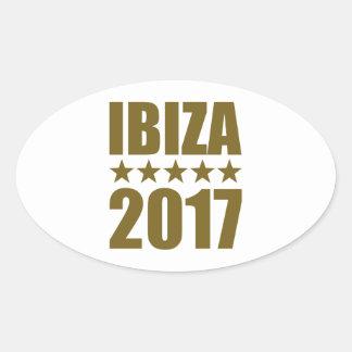 Ibiza 2017 oval sticker
