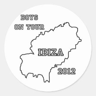 Ibiza - Boys on Tour 2012 Stickers