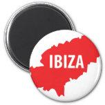 Ibiza icon 2 inch round magnet