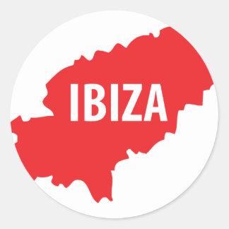 Ibiza icon stickers