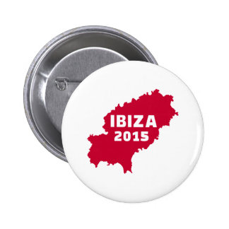 Ibiza map 2015 2 inch round button