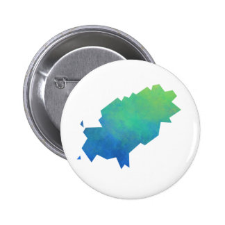 Ibiza Map 2 Inch Round Button