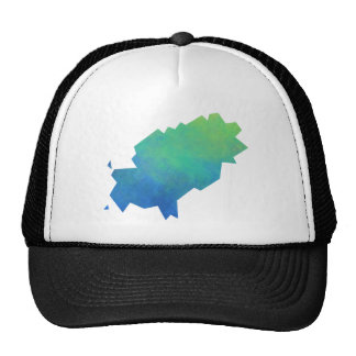 Ibiza Map Trucker Hat