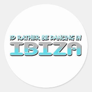 IBIZA ROUND STICKER