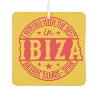 IBIZA Spain car air freshner Car Air Freshener