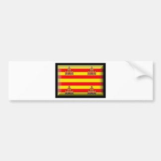 Ibiza (Spain) Flag Bumper Sticker