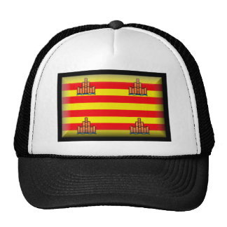 Ibiza Spain Flag Trucker Hat