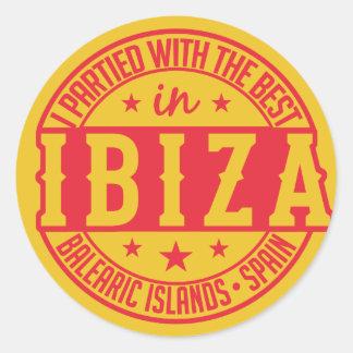 IBIZA Spain stickers