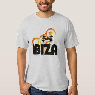 ibiza summer sun design dj t-shirt
