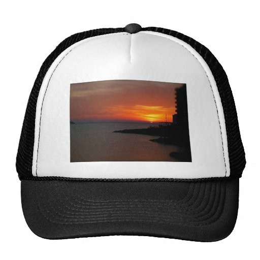 Ibiza Sunset Mesh Hats