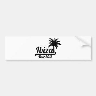 Ibiza Tour 2013 Bumper Sticker
