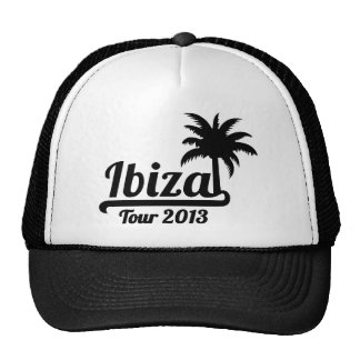 Ibiza Tour 2013 Trucker Hat