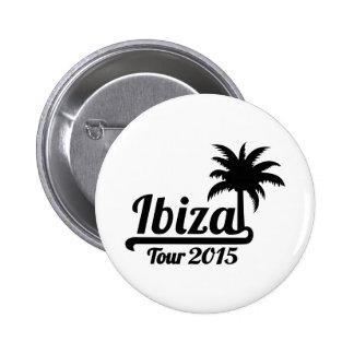 Ibiza Tour 2015 2 Inch Round Button