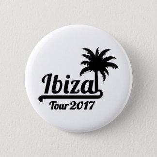 Ibiza Tour 2017 2 Inch Round Button