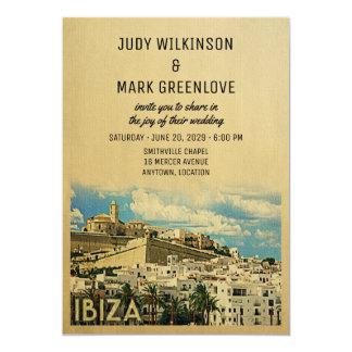 Ibiza Wedding Invitation Vintage Spain