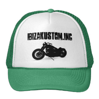 ibizakustom.inc trucker hat