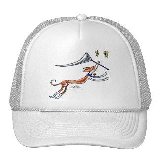 Ibizan Hound Butterflies Trucker Hat