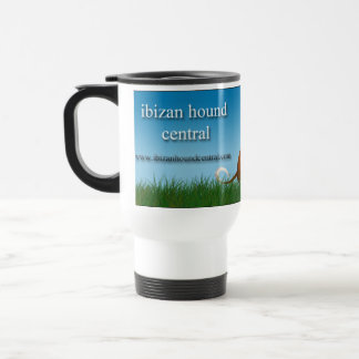 Ibizan Hound Central Travel Mug