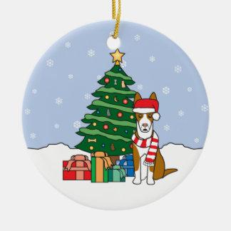 Ibizan Hound Christmas Ornament