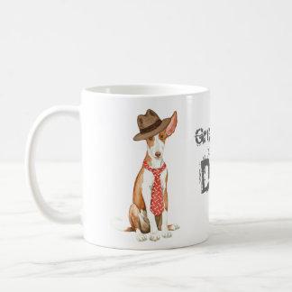 Ibizan Hound Dad Coffee Mug