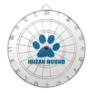 IBIZAN HOUND DOG DESIGNS DARTBOARD