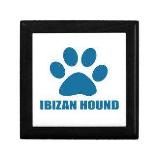 IBIZAN HOUND DOG DESIGNS GIFT BOX