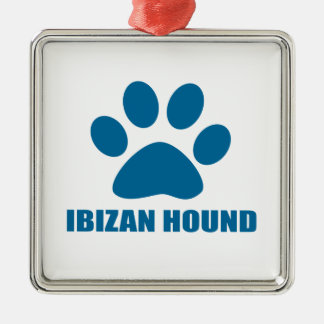 IBIZAN HOUND DOG DESIGNS METAL ORNAMENT