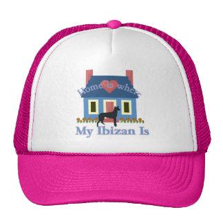 Ibizan Hound Home Is Trucker Hat