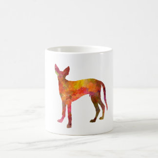 Ibizan Hound in watercolor Coffee Mug