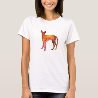 Ibizan Hound in watercolor T-Shirt