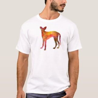 Ibizan Hound in watercolor T-Shirt