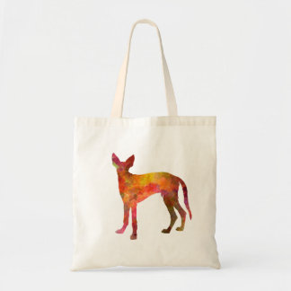 Ibizan Hound in watercolor Tote Bag