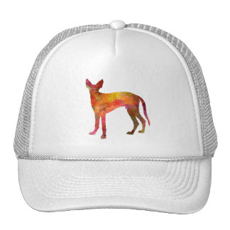 Ibizan Hound in watercolor Trucker Hat