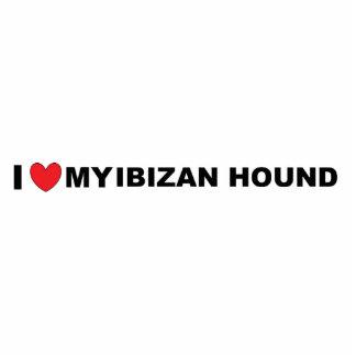 ibizan hound love photo sculpture keychain