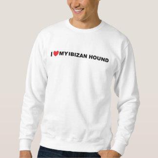 ibizan hound love sweatshirt