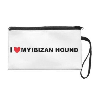 ibizan hound love wristlet