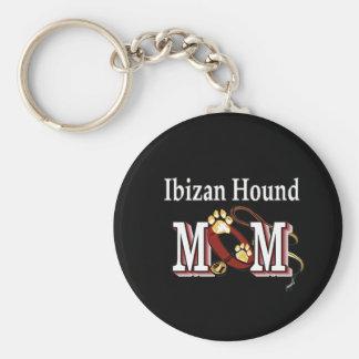 Ibizan Hound Mom Gifts Basic Round Button Keychain