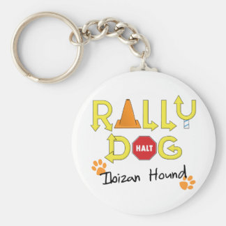 Ibizan Hound Rally Dog Basic Round Button Keychain