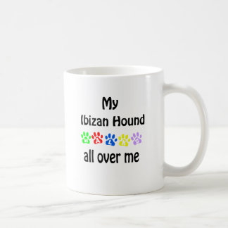 Ibizan Hound Walks Design Coffee Mug