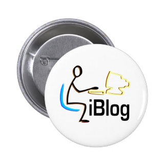 iBlog T-shirts and Gifts. 2 Inch Round Button