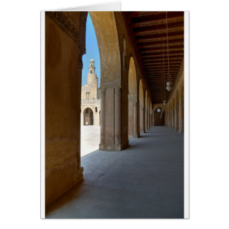 Ibn Tulun Mosque Cairo Card