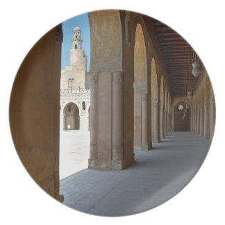 Ibn Tulun Mosque Cairo Plate