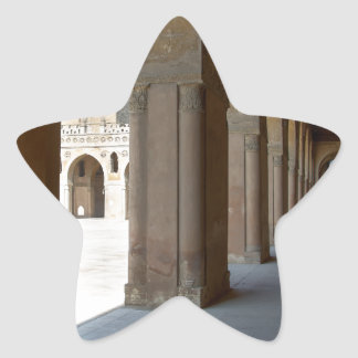 Ibn Tulun Mosque Cairo Star Sticker
