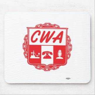 IBT-GCC_bug_small, CWA_AUSTIN_LOGO Mouse Pad