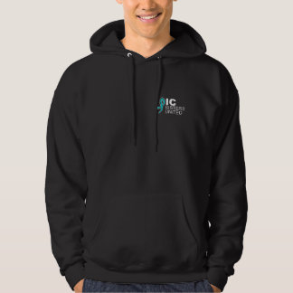IC Sisters United Hoodie Sweatshirt - Black