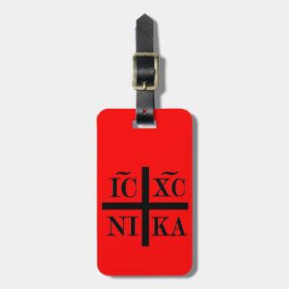IC XC NIKA Luggage Tag