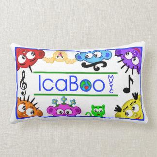 IcaBoo Music Logo Pillow