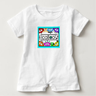 IcaBoo Music Logo Toddler One-Piece Baby Romper