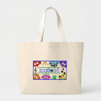 icaBoo Music Logo Tote Bag